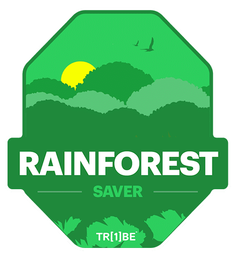 rainforest saver badge